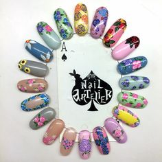 To make an appointment, please call the nail artelier at 62988028 Natural Nail Designs, Gel Nail Designs, Cute Nails, Pretty Nails, Nail Art Modele, Nail Art Wheel, Easter Nail Art, Tribal Nails, Nail Patterns