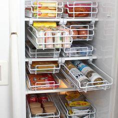 루첸 스마트 슬라이드 냉장고 정리선반 (소) - 현대Hmall