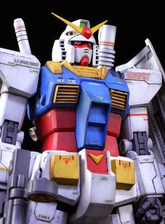 1/100 RX-78-02 Gundam 'The Origin' Ver. - Custom Build MG 1/100 RX-78-2 Gundam Ver. 2.0 conversion build Modeled by NAOKI