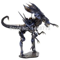 """Hot Sale High Quality Alien Queen Classic Sci-Fi Film Aliens Series 18 Action Figure 12.5"""" Toys New Box"""