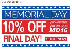 memorial day deals 2016