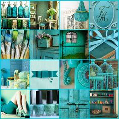 The French Tangerine: ~ turquoise fix