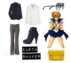 """Senshi Style #8: Sailor Uranus"" by melodystarlight ❤ liked on Polyvore featuring STELLA McCARTNEY, Gucci, Proenza Schouler, ASOS, rag & bone and sailor moon"