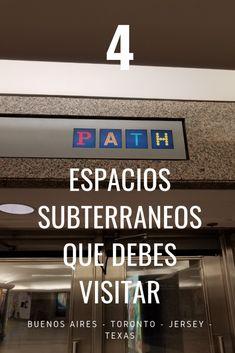 Espacios subterráneos que he visitado en mis viajes | Apuntes Ideas Imágenes Toronto, Speakeasy Bar, Southern France, Spaces, Buenos Aires, Islands