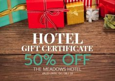 Design Gift Certificate - Ideal for Hotel