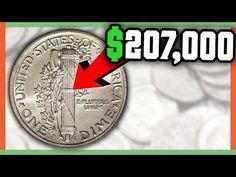 207 000 Rare Dime Worth Money Mercury Dime Full Split Bands Youtube In 2020 Coins Worth Money Rare Coins Worth Money Valuable Coins