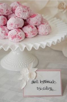 Recipe: Pink Lemonade Tea Cakes - The Tomkat Studio