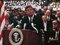 President Kennedy We Choose to Go to the Moon Speech 1962 09 12 NASA: http://youtu.be/TI9uUUFMCuE #JFK #NASA #Apollo