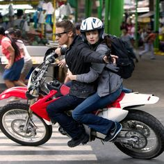 Bourne Legacy. (See! The no look shot. Jeremy Renner really IS Hawkeye.)