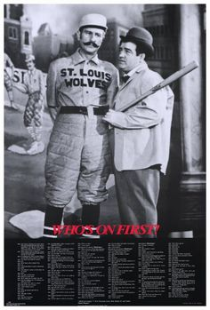 Abbott & Costello - Who's On First 27x40 Movie Poster