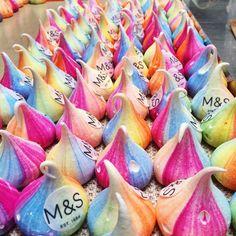 M&S Bespoke Unicorn Poo Meringue Kisses @meringuegirls www.meringuegirls.co.uk