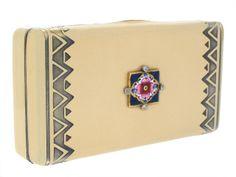 Art Deco Enamel Box by Cartier- Beladora Antique and Estate Jewelry