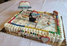 London themed cake