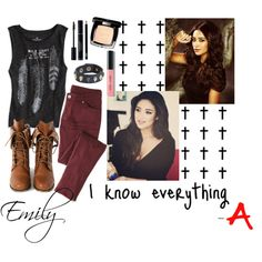 Inspired by Emily (from Pretty Little Liars)