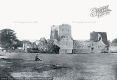 Photo of #Portchester, The Castle 1892. Part of The Francis Frith Collection of historic photographs of Britain. Did you know you can browse the archive online today for free? Your nostalgic journey has begun... #francisfrith #photography #archives #frithphotos #historicbritain #thefrancisfrithcollection #historiccastles