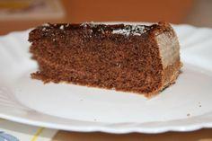 Výborný kakaový koláč s kávou a čokopolevou