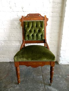 Green Victorian Chair