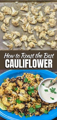 There is a SECRET to the BEST roasted cauliflower! Trust me, you'll want to grab the recipe for these flavorful, tender, and perfectly caramelized roasted cauliflower! Gluten Free Sides Dishes, Low Carb Side Dishes, Side Dish Recipes, Dinner Recipes, Best Cauliflower Recipe, Cauliflower Dishes, Roasted Cauliflower, Vegetarian Recipes Easy, Healthy Recipes