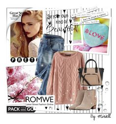 """""""Romwe Contest"""" by majagirls ❤ liked on Polyvore featuring Golden Goose, Camp, women's clothing, women, female, woman, misses, juniors and romwe"""