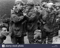 Download this stock image: events, Second World War / WWII, Netherlands, Arnhem, 17. - 25.9.1944, soldiers of the British 1st Airborne Division (General U - B485E1 from Alamy's library of millions of high resolution stock photos, illustrations and vectors.