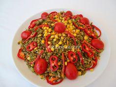 maş fasulyesi salatası yapılışı