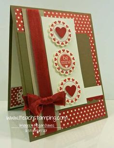 Stampin' Up Mixed Medley to make a Valentine card - video tutorial