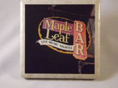 Maple Leaf Bar New Orleans Coaster by TheCoasterMan on Etsy, $8.00