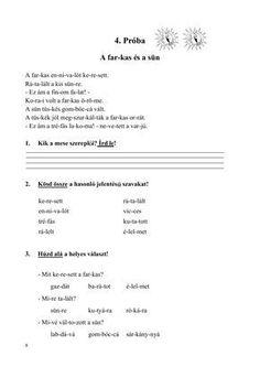 Olvasóka 1-2. évfolyam számára Home Learning, Grammar, Worksheets, Homeschool, Teacher, Writing, Reading, Life, Minden