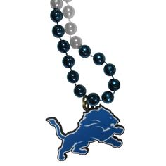 "Checkout our #LicensedGear products FREE SHIPPING + 10% OFF Coupon Code ""Official"" Detroit Lions Mardi Gras Bead Necklace - Officially licensed NFL product 26 inch string of beads Classic Mardi Gras style Bright chrome colors Detroit Lions extra large team charm - Price: $16.00. Buy now at https://officiallylicensedgear.com/detroit-lions-mardi-gras-bead-necklace-fmbn105"