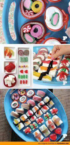 Candy Sushi Rolls!