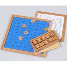 Hunderterbrett Multiplication Tables, Boards, Toy, Studying, Children, Ideas