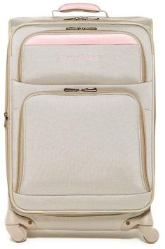 95f2edcb1b Beige and Pinkn Suitcase. Alysea Vega · Travel