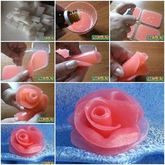How to make Soap Flowers Internet Tutorial instructions, How to, how to do, diy instructions, crafts, do it yourself, diy website, art project ideas