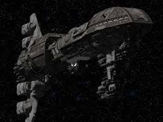 Space Control Cruiser Heavy Weapons