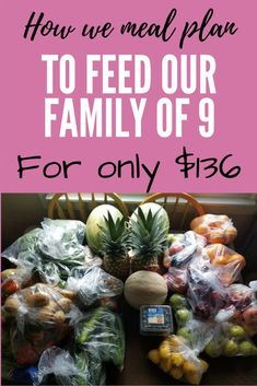 Step by step guide on how to make a vegan meal plan while on a budget! Here is how we feed a large family for cheap. Cheap Meals To Cook, Cheap Healthy Dinners, Cheap Easy Meals, Best Vegetarian Recipes, Healthy Dinner Recipes, Easy Recipes, Cooking On A Budget, Budget Meals, Vegan Meal Plans