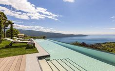 Lefay Resort & Spa, Lake Garda This infinity pool is reserved for the sole use of residents in the adjacent three-bedroom suite. Also featuring its own private, spa. in Alto Granda National Park from per night. Pool Spa, Hotel Pool, Hotels With Infinity Pools, Infinity Edge Pool, Pool Picture, Wanderlust, Lake Garda, Luxury Spa, Restaurant