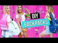 DIY Back to School Essentials: Phone Case, Organizer etc. | LaurDIY - YouTube