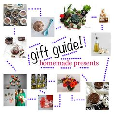 holiday gift guide: homemade DIY presents I howsweeteats.com