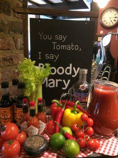 @lassorichmond Bloody Mary display
