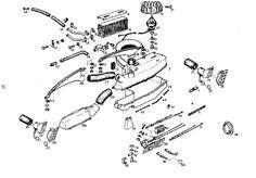 diagram esterior opel gt 1100 technical drawing opel gt 1900