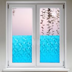 klebefolie f r fenster glas film fenster pinterest. Black Bedroom Furniture Sets. Home Design Ideas