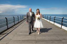 Saltburn Spa Hotel Wedding – Natalie and Michael's Seaside Wedding