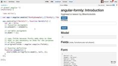Introduction to angular-formly - AngularJS Video Tutorial #free @eggheadio