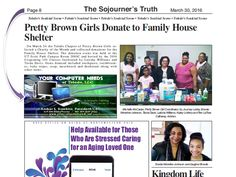 Hello everyone. Your Computer Needs of Toledo, LLC thanks The Sojourner's Truth for the ad placement. Find it on page 8 of the March 30, 2016 edition.