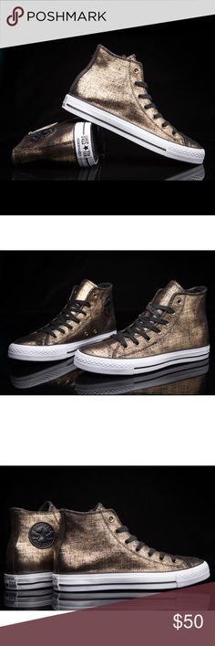FLASH SALE  CONVERSE WOMENS GOLDEN ALL STAR Brand new without box Converse Shoes Sneakers
