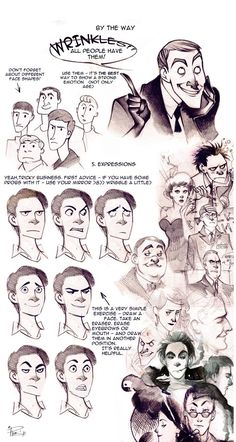 """mcoats: """" y-juba: """" face tutorial by phobs """" Phobs draws some of the best faces :D """" FOREVER REBLOGGIN' THIS ISH!!!!!!"""