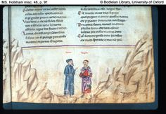 Lou p. 77 Dante and Virgil with Omberto Aldobrandeschi among the proud. Oxford College, College Library, Medieval, Comedy, University, Spirituality, Letters, Digital, Books