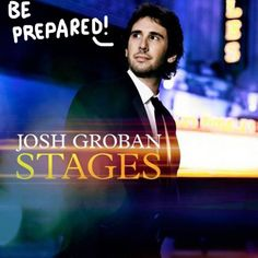 Josh is going to be delivery the album that is every Broadway lover's dream! Out end of April. 2015.
