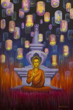"""The greatest wisdom is seeing through appearance.""   ~ Atisha  Artist: Yuliya Glavnaya   <3 lis"
