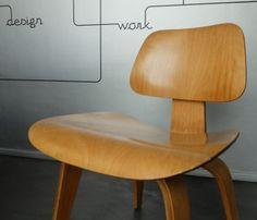 DCW Dining Chair Wood Birch Herman Miller 1951 Design Charles & Ray Eames - Charles Eames, Ray Eames - Herman Miller